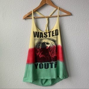 Double Zero | Waisted Youth Tank Top